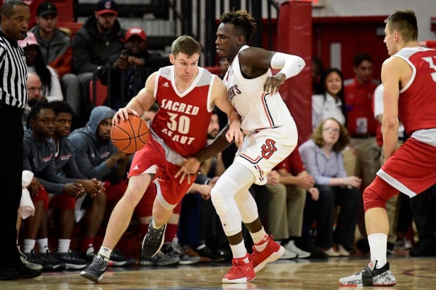 Kinnon LaRose led Sacred Heart to victory over FDU/newsday.con